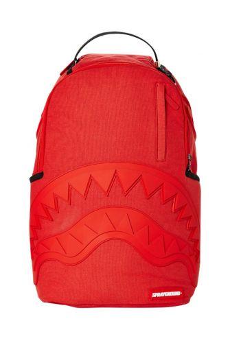 Sprayground backpack Red ghost rubber shark