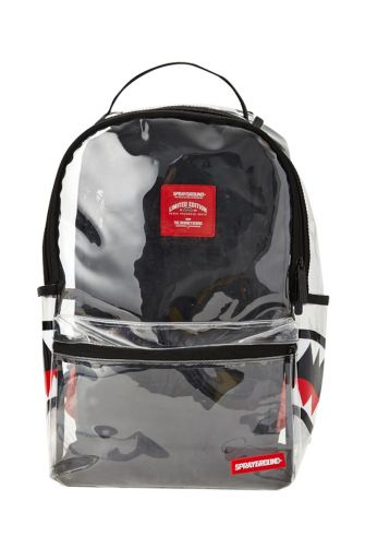 Sprayground backpack 20/20 double cargo side shark