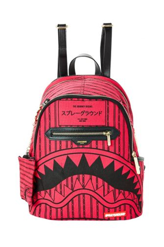 Sprayground women's backpack Pink Reverse Sharks in Paris