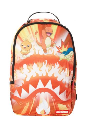 Sprayground backpack Pokemon fire shark