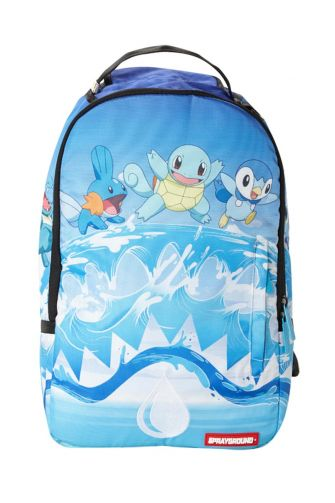 Sprayground backpack Pokemon water shark