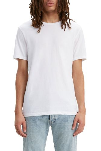 Levi's® slim fit crewneck t-shirt 2 pack white