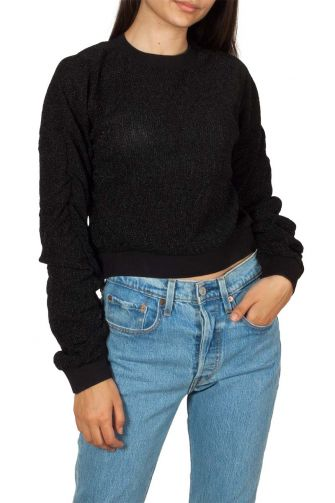 Rut & Circle Elina Lurex sweater