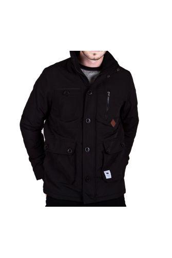 Bellfield men's windcheater jacket in black