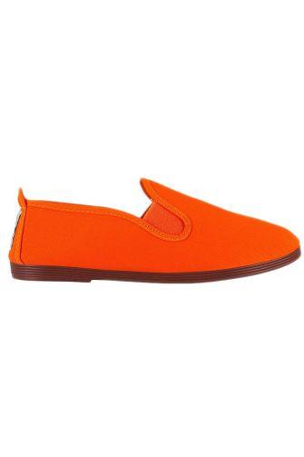 Flossy womens plimsoll Arnedo orange
