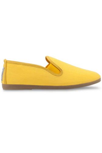 Flossy Murcia γυναικείο Plimsoll yellow linen