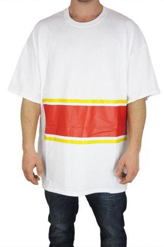 Smartness Lab ανδρικό oversize t-shirt λευκό