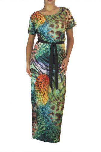 Smash short sleeve maxi dress