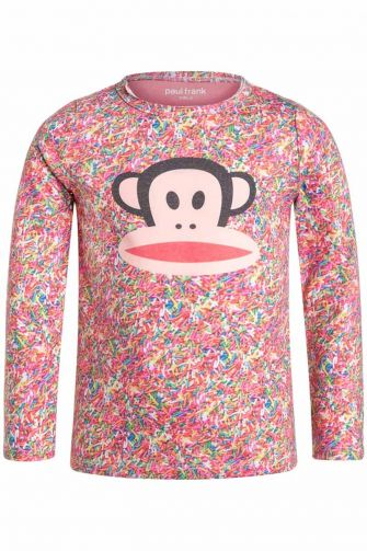 Paul Frank Sprinkles kids long sleeve tee girls