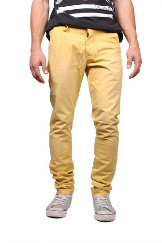 Humor chino pants Moan misted yellow