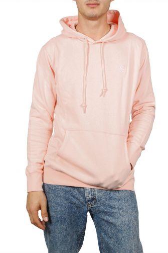 Obey Creeper hoodie pink