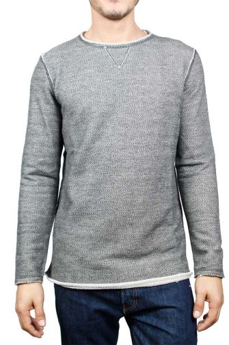 Best Choice men's sweatshirt grey melange