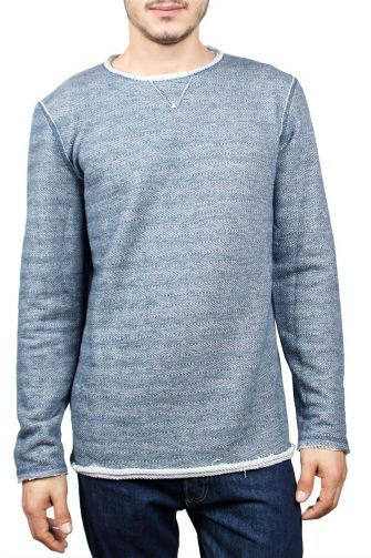 Best Choice men's sweatshirt blue melange