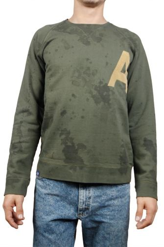 Men's sweatshirt olive