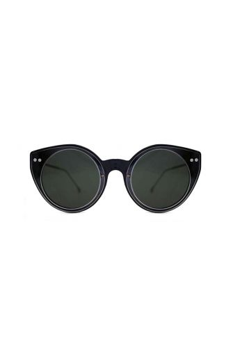 Spitfire sunglasses Alpha select double lens black/clear & black