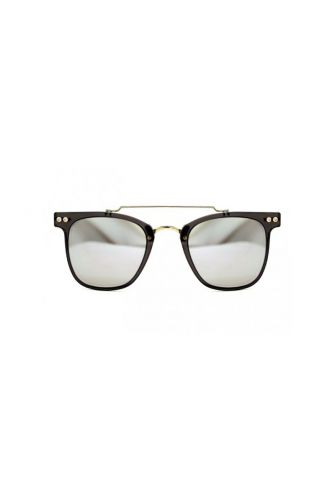 Spitfire sunglasses FTL 2 lens clear/black & silver mirror