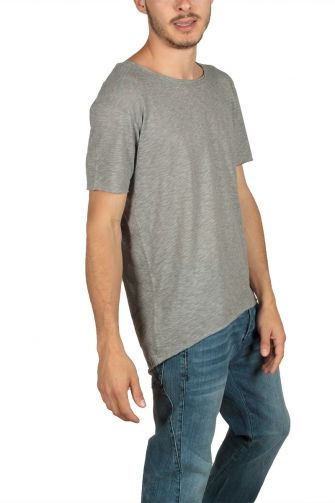 Lotus Eaters men's T-shirt grey melange
