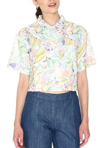 Pepaloves Gilda crop πουκάμισο