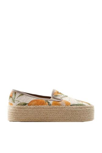 Favela espadrilles 8/143 Slip on Hi orange