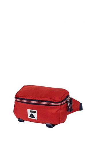 Poler Rover hip pack mud red