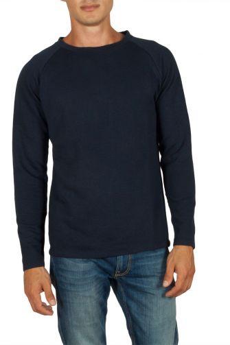 French Kick Ice raglan sweatshirt navy
