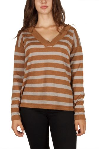 Soft Rebels Vouge striped jumper
