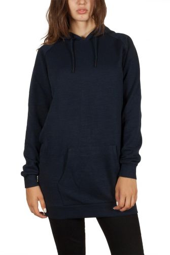 Soft Rebels Monica long sweat navy