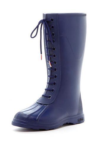 Native Paddington rain boots regatta blue