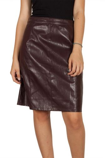 Soft Rebels Dicte skirt dark bordeaux