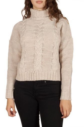Soft Rebels Fun jumper beige