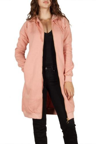 Soft Rebels Follow sweat jacket rose