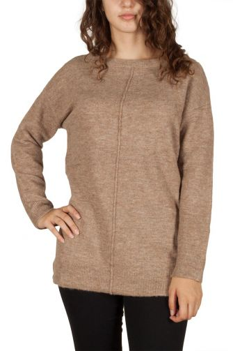 Soft Rebels Penny jumper beige marl