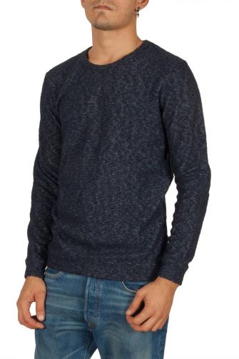 Minimum Noshiro sweatshirt dark navy melange