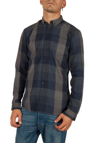 Minimum Pelham check shirt blue