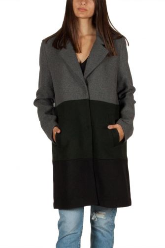 Minimum Maybrit women's coat grey melange