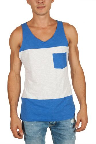 Tag Roccapino men's tank top