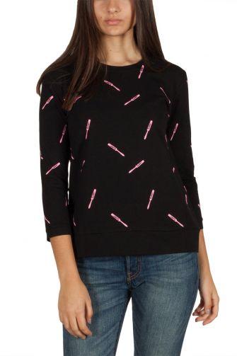 Migle + me pink mascara μπλούζα μαύρη