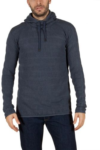 Men's hooded jumper blue