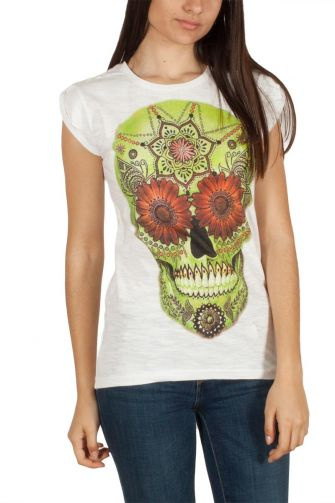 "Bflak women's t-shirt ""sugar skull"""