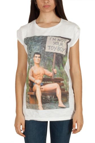 "Bflak women's t-shirt ""toy-boy"""