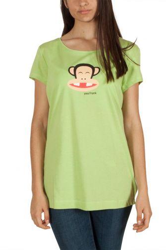 Paul Frank γυναικείο t-shirt Julius no tooth πράσινο