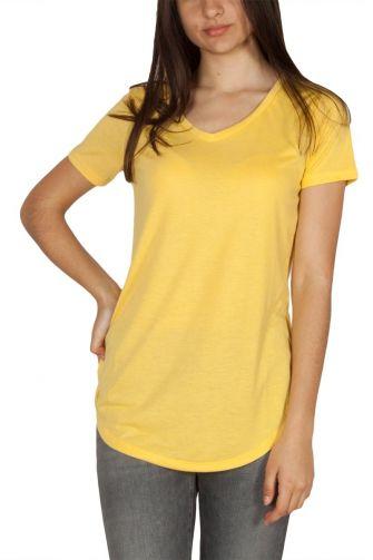 LTB Jaledo γυναικείο t-shirt κίτρινο με V-λαιμόκοψη