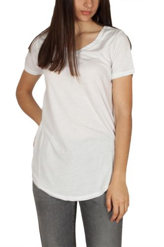 LTB Jaledo γυναικείο t-shirt λευκό με V-λαιμόκοψη