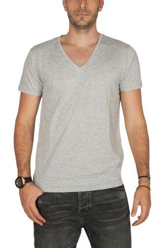 LTB Just ανδρικό t-shirt γκρι μελανζέ
