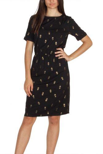 Soft Rebels Cassy κοντομάνικο φόρεμα μαύρο