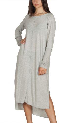 Lotus Eaters knitted dress grey melange