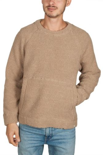 Minimum Bilal teddy sweatshirt camel