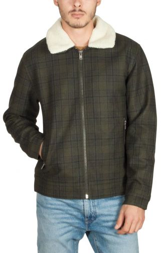 Minimum Dawkins wool jacket racing green
