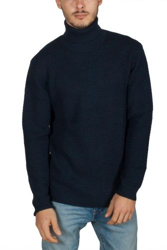 Minimum Jerum turtleneck jumper navy