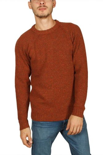 Anerkjendt Torben flecked jumper gold flame